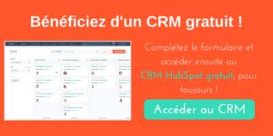 CTA_CRM gratuit HubSpot
